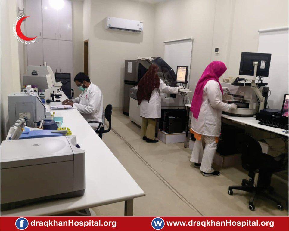 Lab of Dr A Q Khan Hospital
